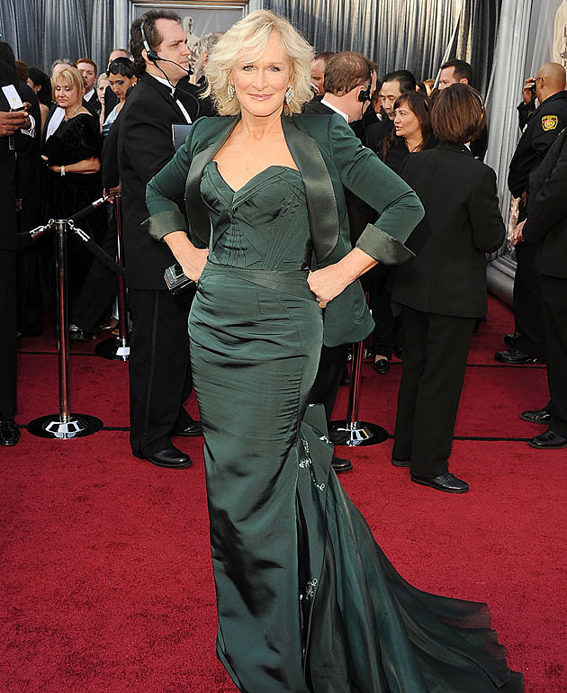 Oscars 2012 worst dressed  Glenn-close-2012-oscars-worst-dressed