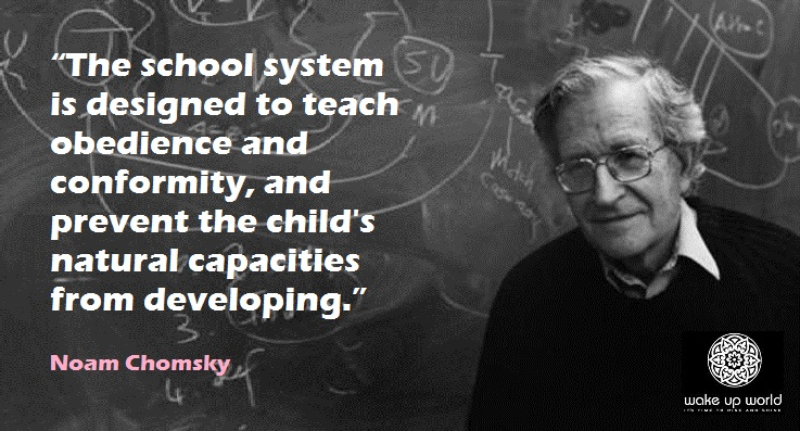 The School System: The Incarceration of Children The-School-System-The-Incarceration-of-Children-FB-Noam-Chomsky
