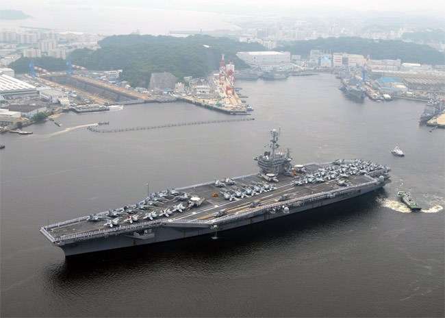 NEIL KEENAN UPDATE | Desperate Nations Still Have Dangerous Weapons – Don't Be Fooled USS-george-washington