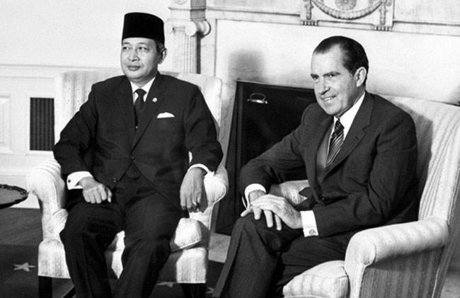 NEIL KEENAN UPDATE | History & Events Timeline General-suharto