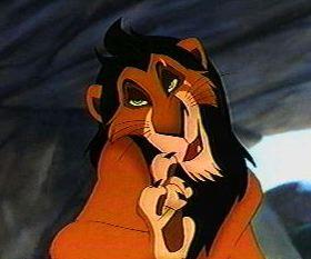 ahadi y scar son leones asiaticos Scar-rey-leon
