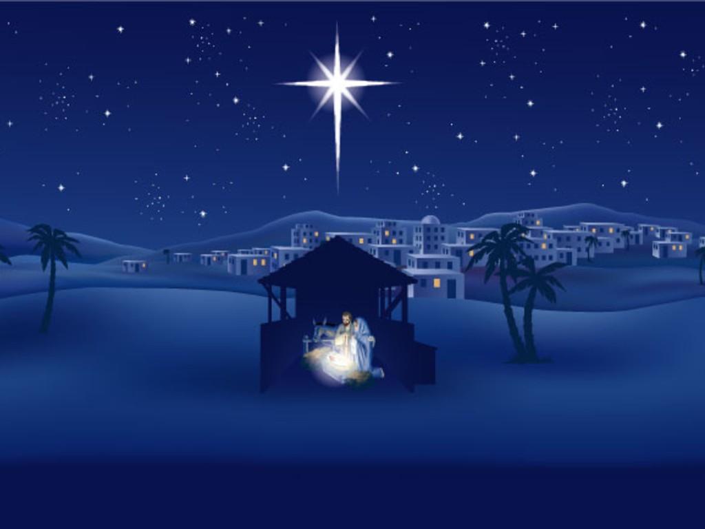 Pour Noël : Certains ont oublié de faire un cadeau à Jésus ! The-birth-of-christ