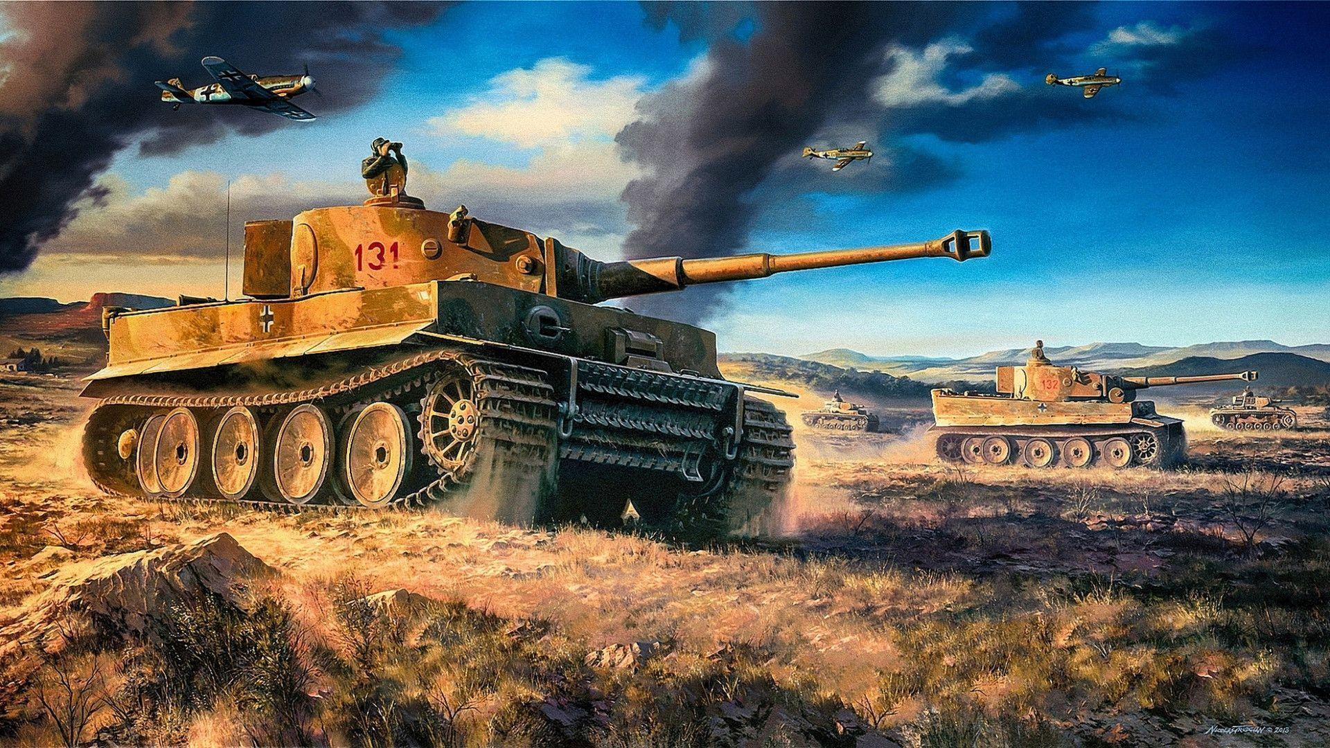 Tank / war Art work 9RBGltP