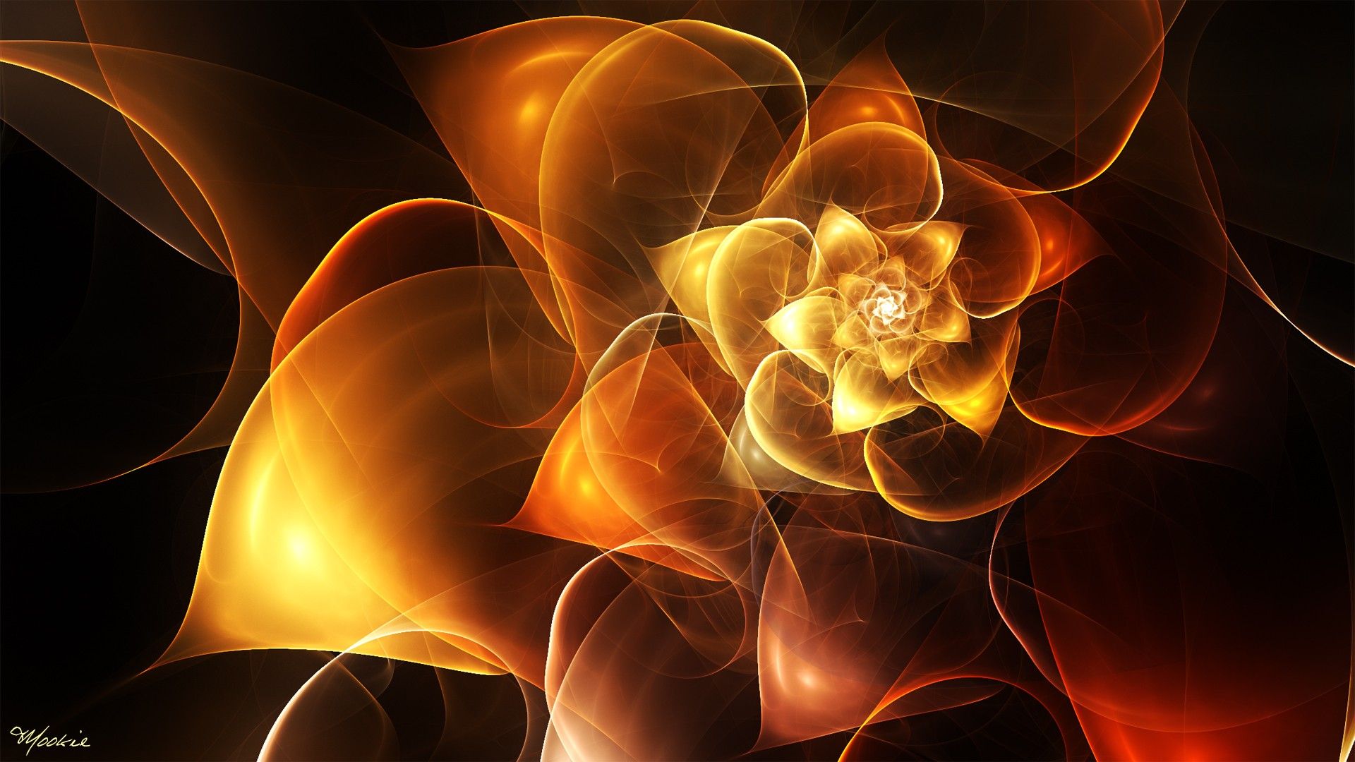 Spontaneous Evolution: New Scientific Realities Are Bringing Spirit Back into Matter Flowers-fractals_00387107