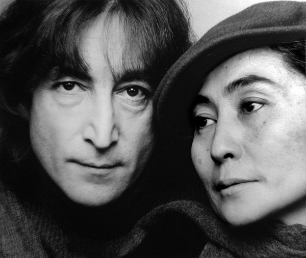 Žene kao večita inspiracija umetnika Lennons_by_Jack_Mitchell