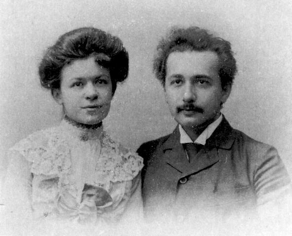 Mileva Marić-Ajnštajn Mileva2vencanje