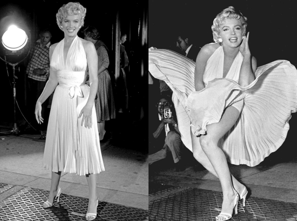 Nezaboravni modni trenuci u istoriji filma MARILYN-MONROE