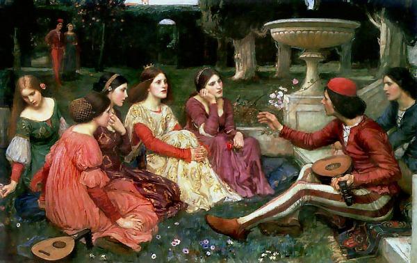 Giovanni Boccaccio A-tale-from-the-decameron-1916