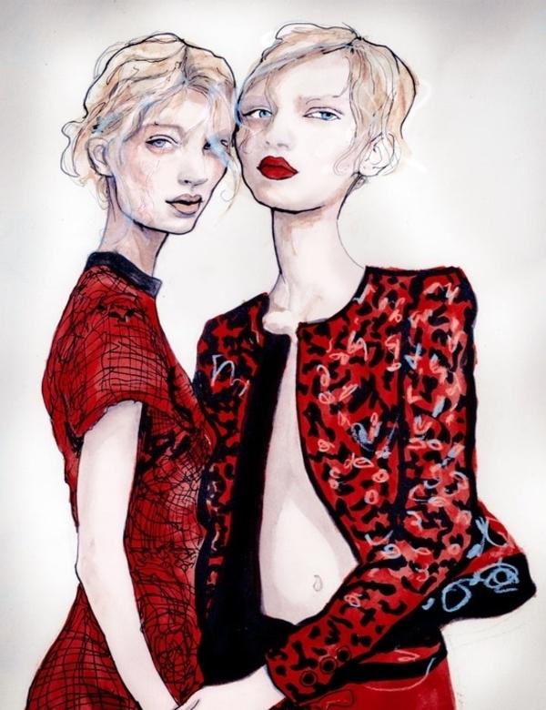 Dejvid Daunton - modni ilustrator - Page 5 Slika318