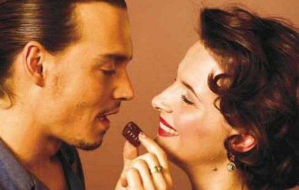 Filmska ostvarenja inspirisana čokoladom Dzoni_dep_i_zilijet_binos