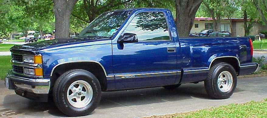 Luisu: Chevy Sportside - vuosien jälkeen kuntoon ja pussit alle. - Sivu 2 Truck%20side