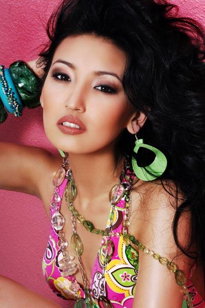 Miss Kazakhstan Universe - Gauhar Rakhmetalieva (2007) KZ