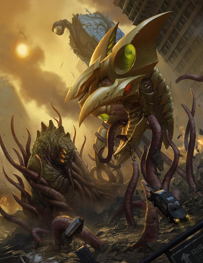 [Dreamworks & Tim Burton] Monsterpocalypse (2012) Monsterpocalypse_two_by_omen2501
