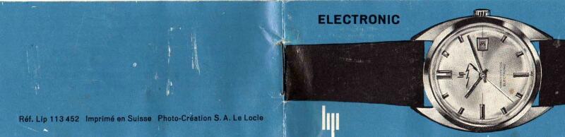 La notice de la Lip électronique... Lipnot1