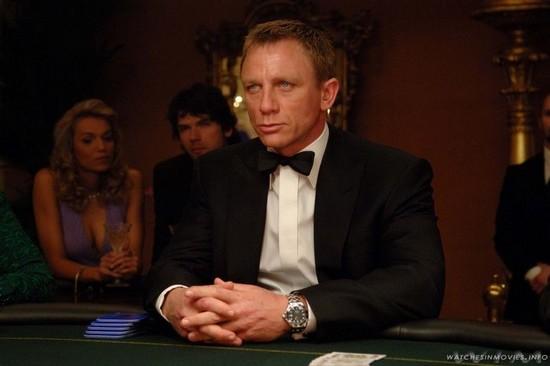 Toutes les montres de James Bond... CasinoRoyale-Seamaster