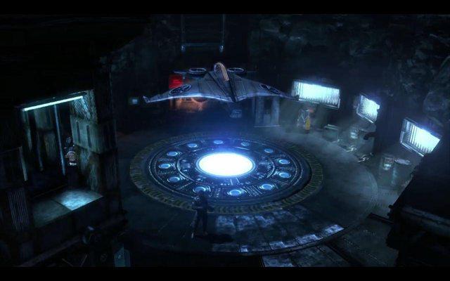 La Batcave Arkham-city-batcave-2