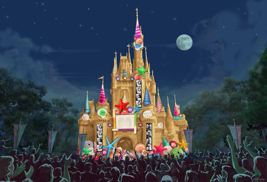 [Magic Kingdom & Disneyland Park] Magic, Memories & You : nouveau show de projections sur le Château Cas118942LARGE