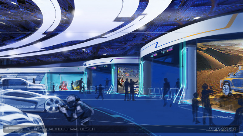 [Epcot] Nouvelle version de Test Track (06 décembre 2012) - Page 4 Showroom-L