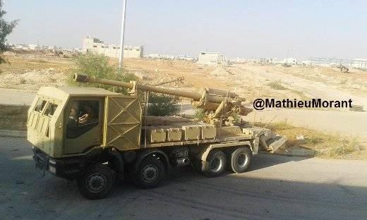 مدفع M-46 عيار 130 ملم الذاتي الحركه المدولب المطور من قبل الجيش السوري  25708e57b68599d8ff7035566ef764b4