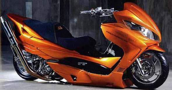 Imágenes de motos tuning Scooter-tuning