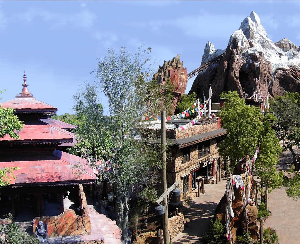 [Disney's Animal Kingdom] Expedition Everest Everest_pano