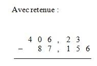 coures mathematique-6eme+ 5eme  Addition-soust