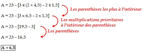 coures mathematique-6eme+ 5eme  Organisation_calcul