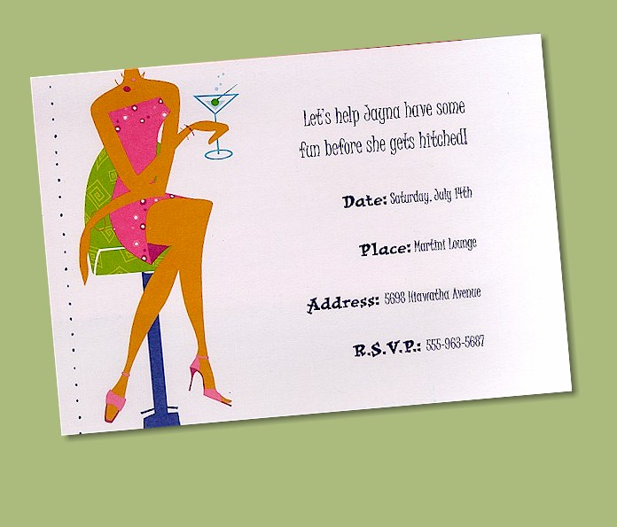 convite chá bar!!! CosmoGirlShower
