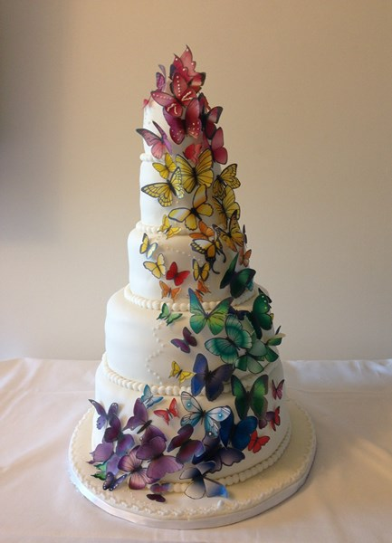 Bon anniversaire Navane ! Papillon-rainbow-wedding-cake