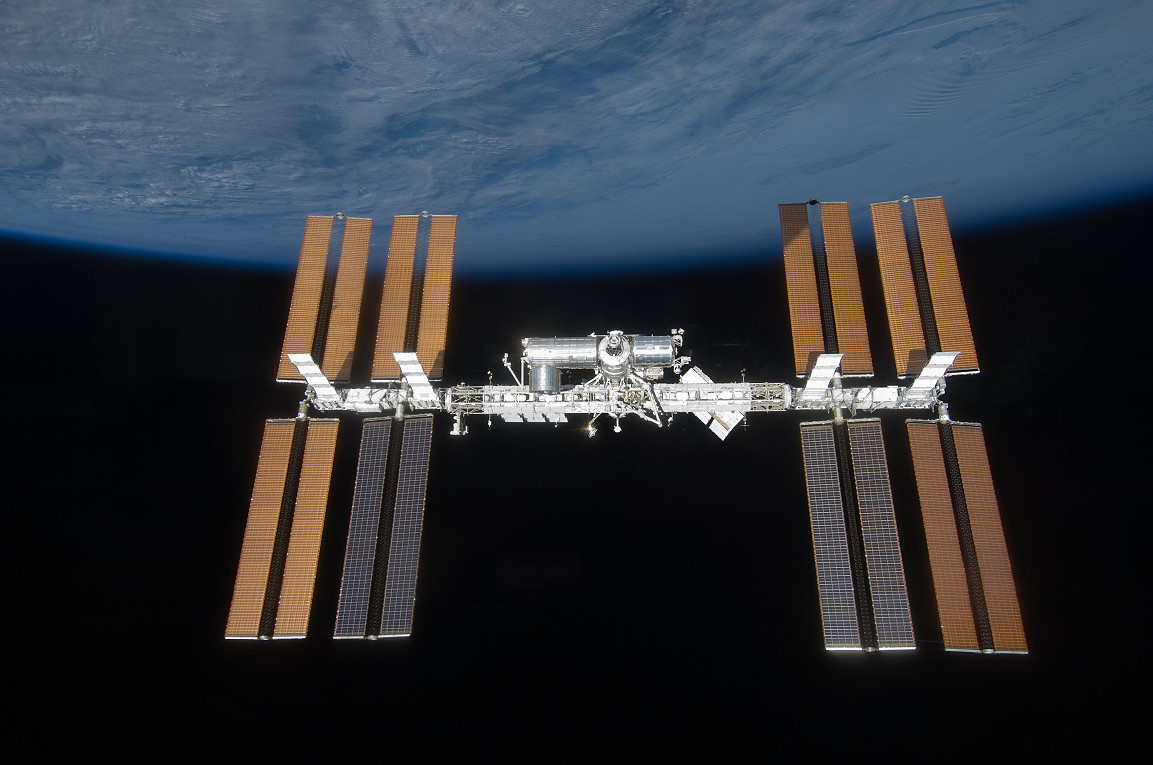 Animation assemblage ISS Sts119iss