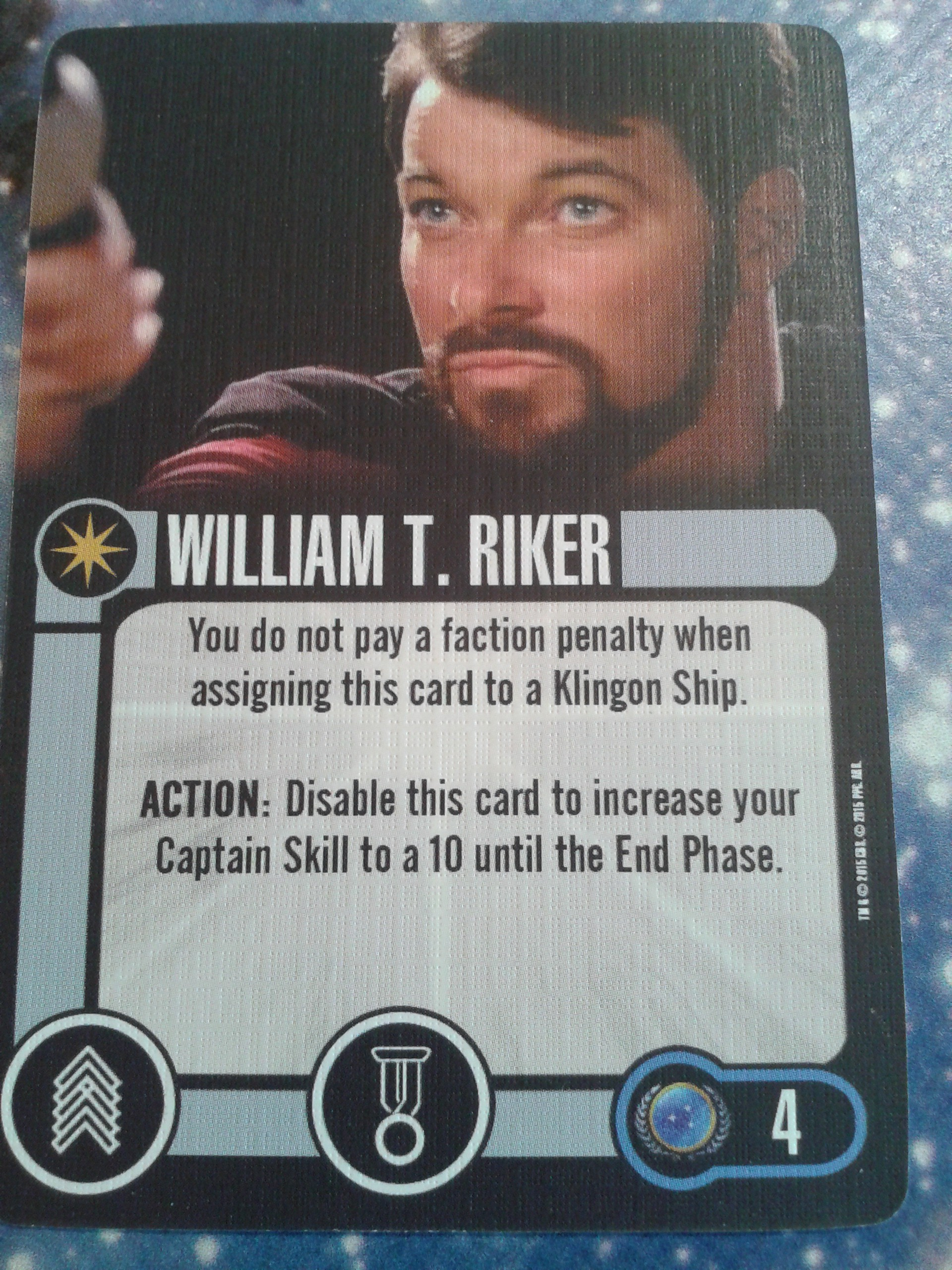 William T. Riker - Crew - IKS Pagh Preis-Set 20150328_104612-e1427536833724