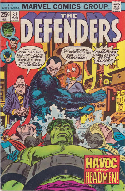 Classic Comic Covers - Page 2 Defenders-33