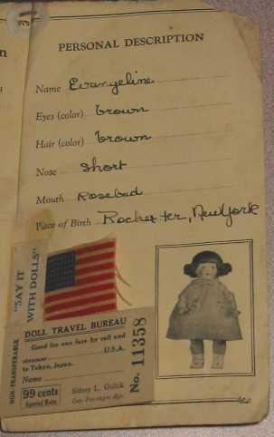 Паспорт или сертификат куклы. Зачем и как ? Shintoku7