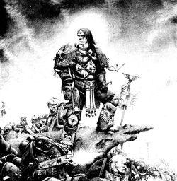 [W30K] L'Empereur de l'Humanité / The Emperor of Mankind 250px-EmperorwLegions