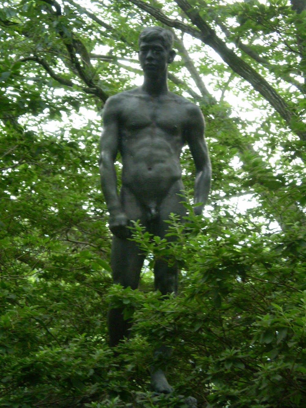 Pour vous mesdames Okutama_statue