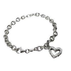 اكسسوارات 2-4_14k-white-gold-rollo-link-bracelet-with-dangling-diamond-heart-charm