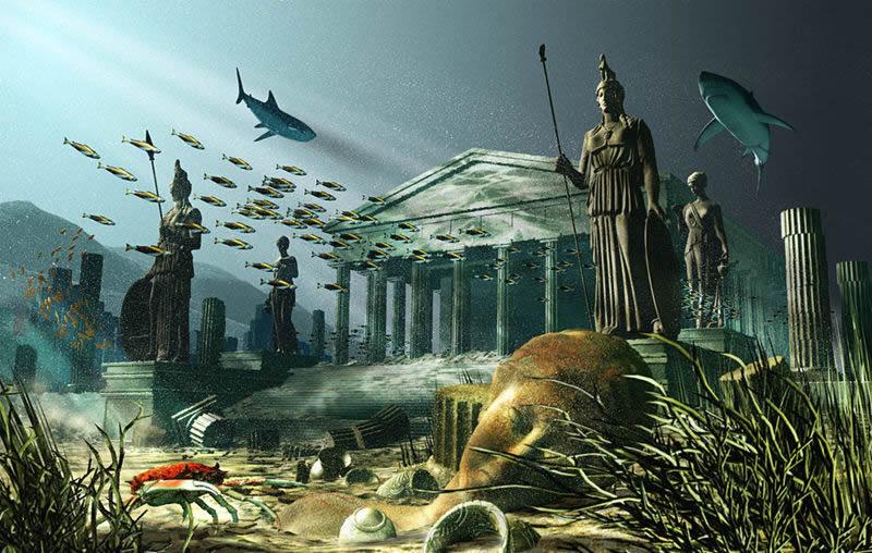 antique civilisation engloutie Atlantis2