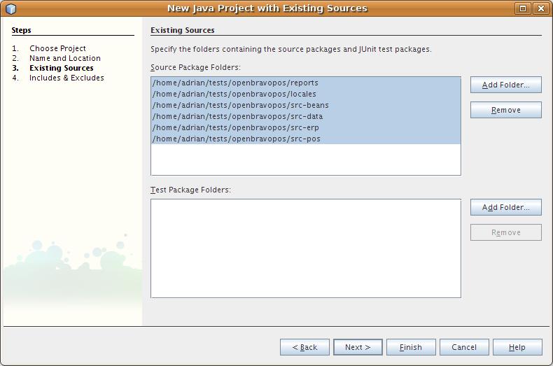 أروع برنامج لنقاط البيع OpenBravo POS مفتوح المصدر بالجافا وشرح كيفية التعديل عليه من خلال netbeans Netbeans_new_project3