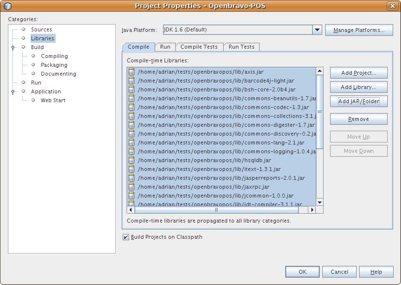 أروع برنامج لنقاط البيع OpenBravo POS مفتوح المصدر بالجافا وشرح كيفية التعديل عليه من خلال netbeans Netbeans_new_project_4