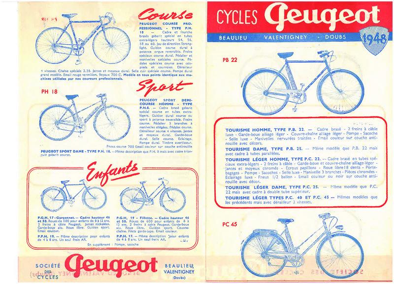 Peugeot course inconnu 1949 ou 1950 800px-CyclesPeugeot1948A