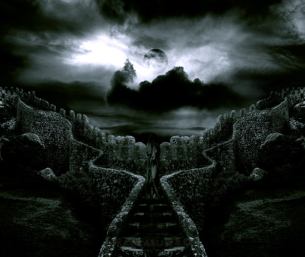 A Umbra Negra Buried_by_time_and_dust_by_impatation