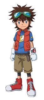 Elenco de Digimon em Portugal Taiki_kudou