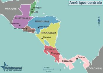 [Fiche] Lampropeltis abnorma (ex Lampropeltis triangulum hondurensis) 350px-Map_of_Central_America_(fr)