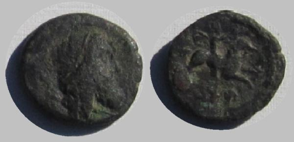 Bronce AE13 de Adramyteion, Mysia BMC_11