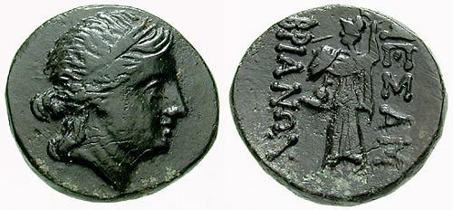 AE22 de Mesembria. Tracia. 200-100 a.C. SNGBMC_284