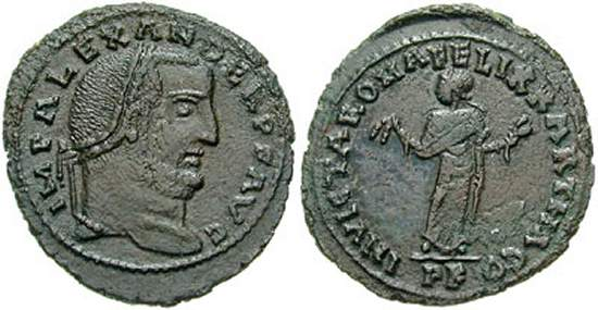 مسكوكات الامبراطور الكسندر  _carthage_RIC_68.1