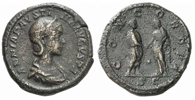 مسكوكات الامبراطوره أنيا  اوريليا فوستينا RIC_399