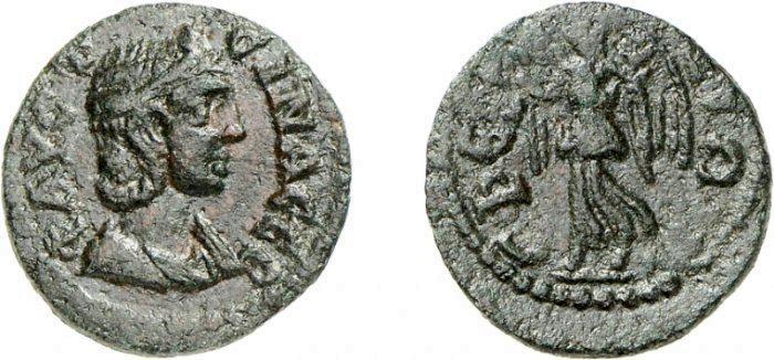 مسكوكات الامبراطوره أنيا  اوريليا فوستينا _ephesos_SNGMunich_188