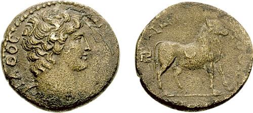 مسكوكات الامبراطور أنطونيوس يفضل قرائته  _hadrianotherae_AE24_SNGFr_1093