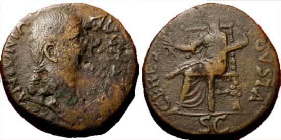مسكوكات الامبراطوره انطونيا  Incitatus_393092